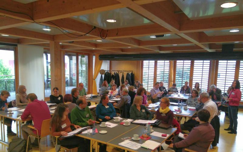 Gelungener Auftakt des Austausches der in 2017 geförderten Projekte